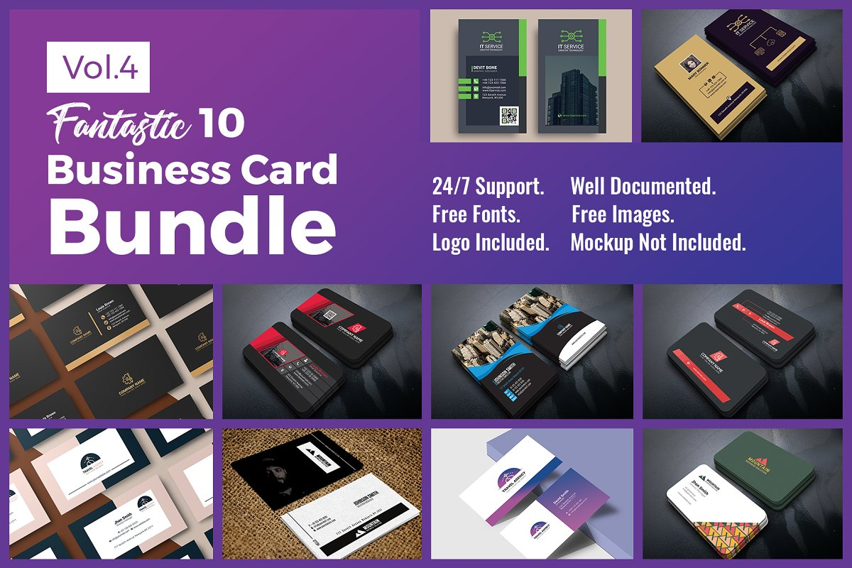 10 Business Card Bundle Vol.4