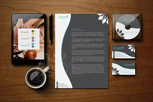 Serenity Spa - Logo & Branding Kit