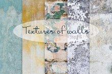 Textures of walls (5 photos)