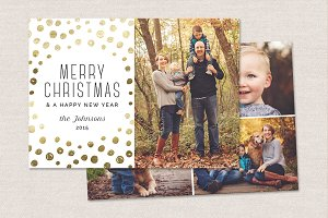 Christmas Card Template CC081