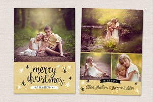 Christmas Card Template CC052
