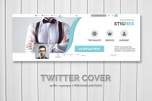 Twitter Header Cover by  in Twitter