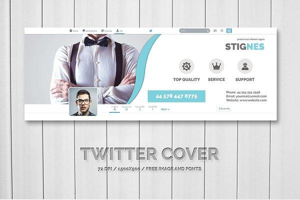 Twitter Templates: Creative Shop - Twitter Header Cover