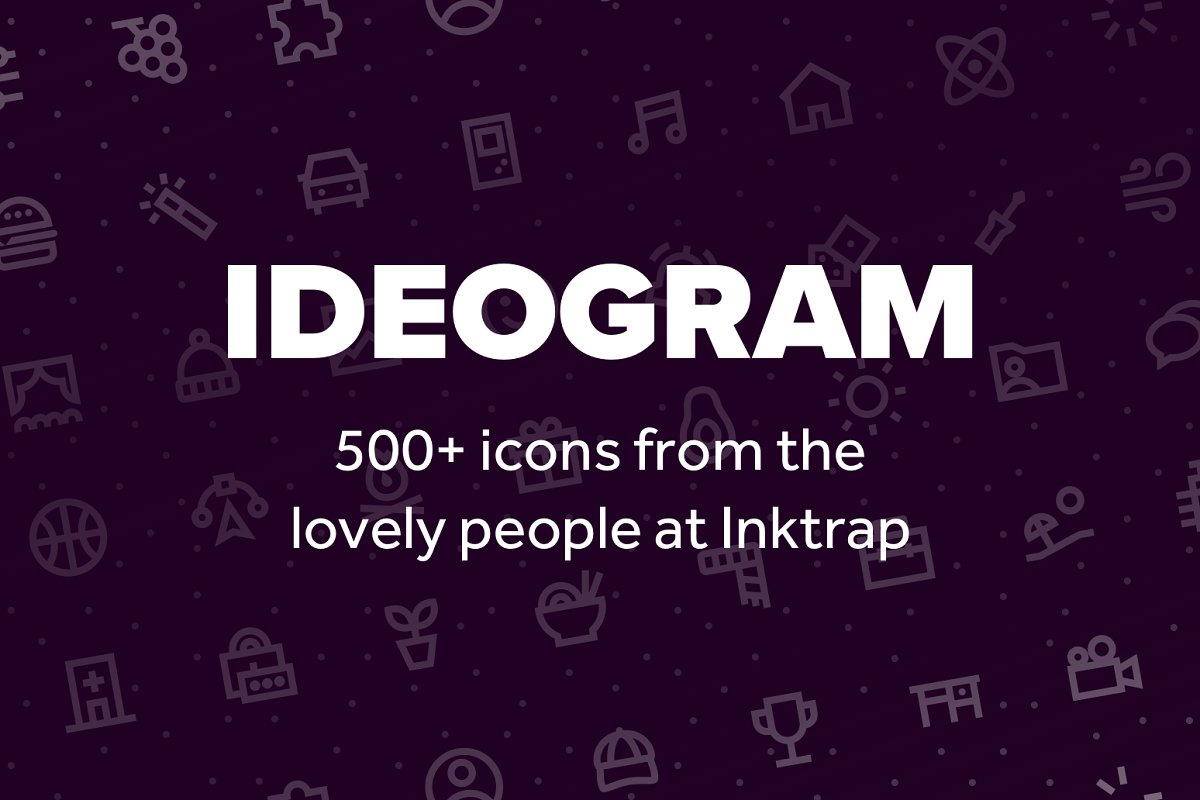 Ideogram: Icon Set by Inktrap