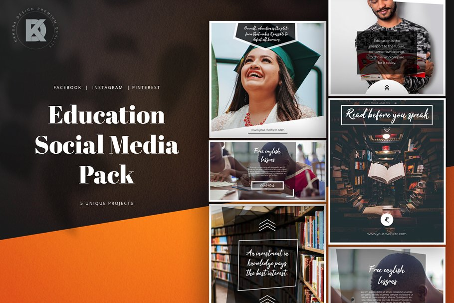 Education Social Media Pack