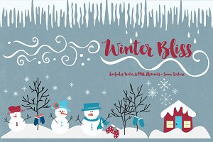 Winter Bliss Graphics Collection