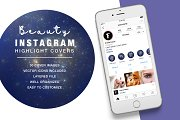 Beauty Instagram Highlight Space