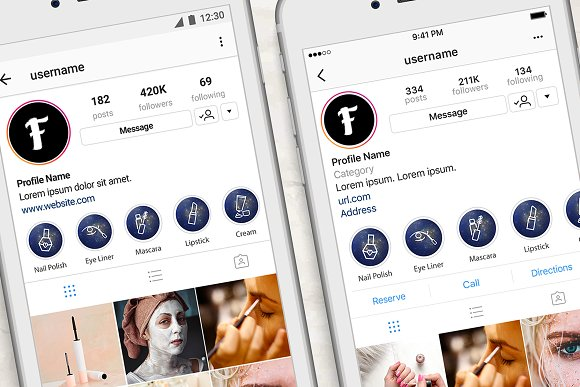 Beauty Instagram Highlight Space in Instagram Templates - product preview 3
