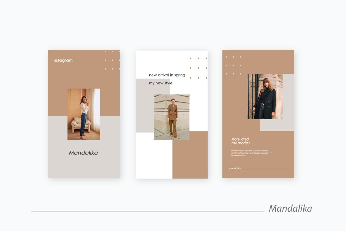 Mandalika - Instagram Pack Template in Instagram Templates - product preview 6