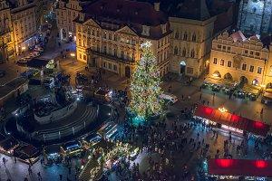 Staromestska in Christmas time