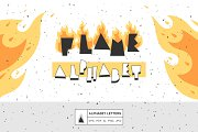 Alphabet of the flame