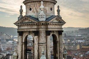 Saint Istvan's Basilica view tower