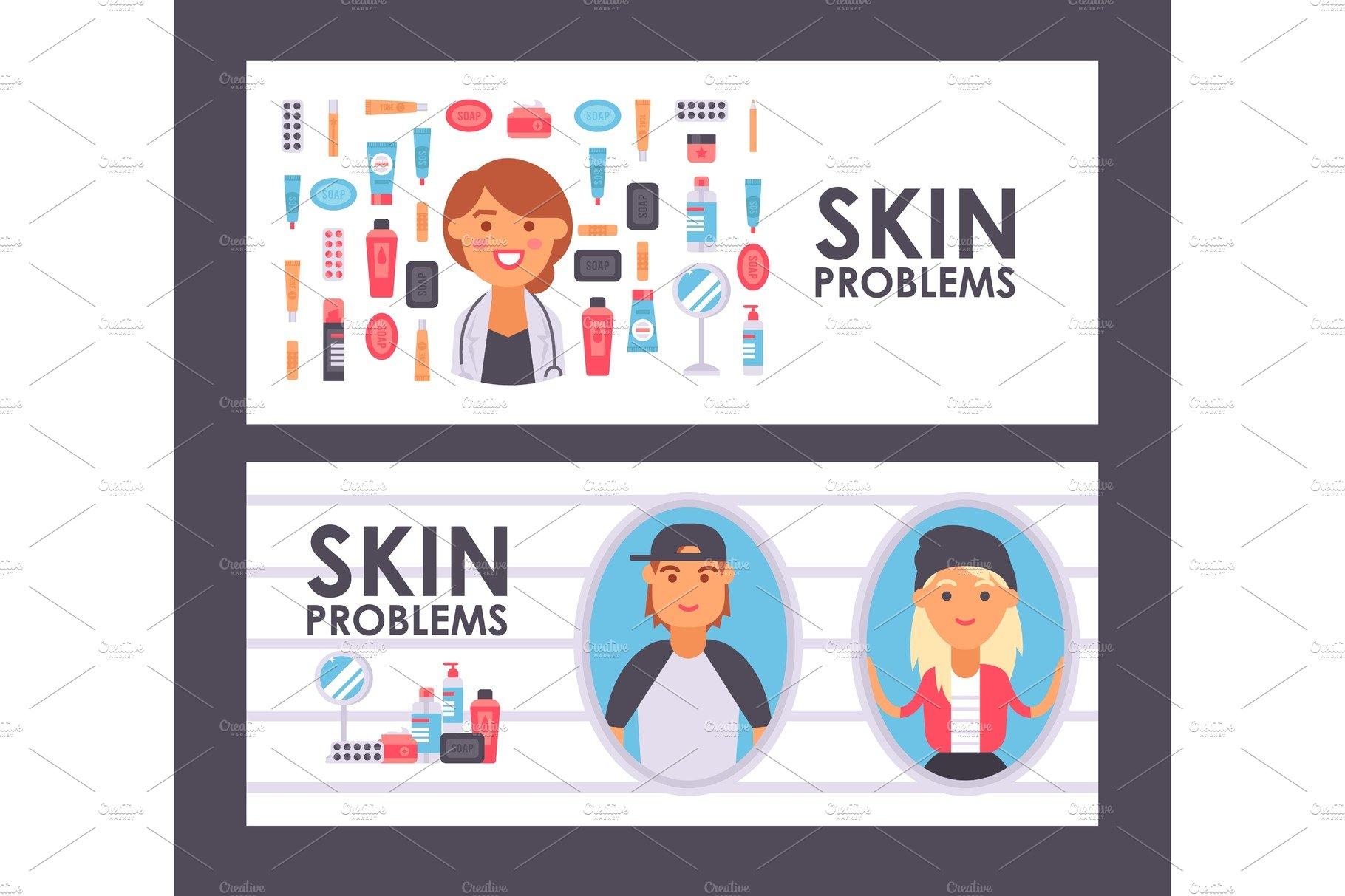 Skin Care Banner Vector Pre Designed Vector Graphics Creative Market