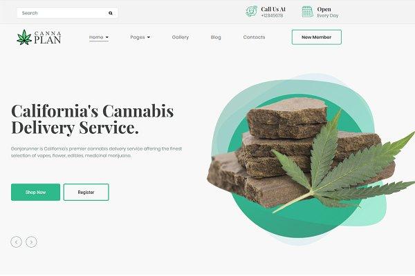 Medical Marijuana Dispensary Theme