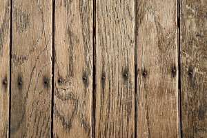 Distressed Vertical Wood Boards