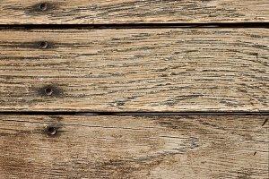 Distressed Horizontal Wood Boards