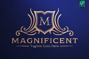 Magnificent - Crest Logo Template