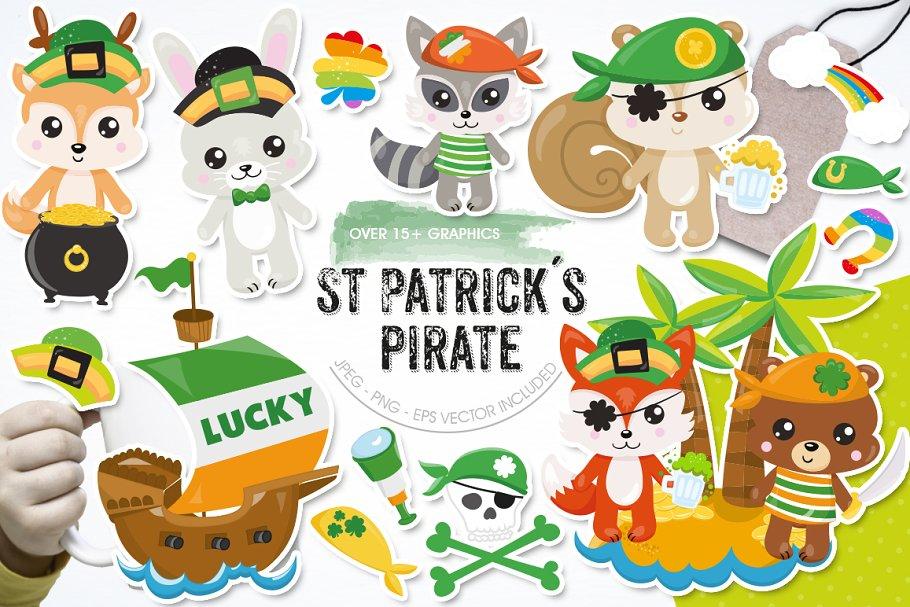 St. Patrick's Pirate