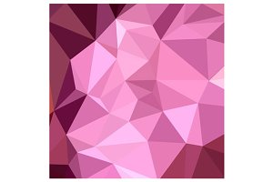 Fandango Purple Abstract Low Polygon