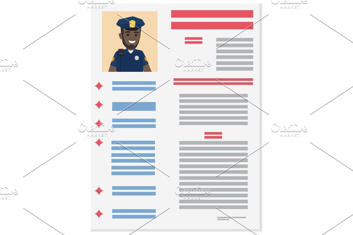 Policeman Career Information Leaflet