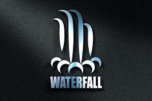 Waterfall Logo Template