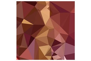 Heather Purple Abstract Low Polygon