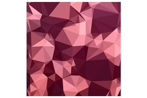 Imperial Purple Abstract Low Polygon