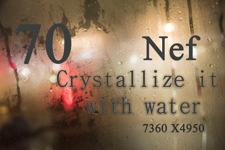 70 Photos Crystalize it with water