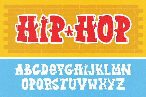 Non Western Fonts: Dmitry Loshkin - Graffiti letters vector set