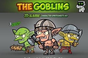 Goblins Ememies Sprites 07