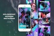 Holographic Modern Instagram