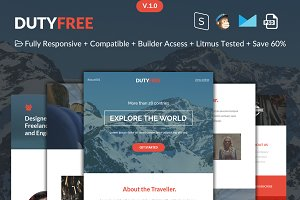 DutyFree-Responsive Email Template