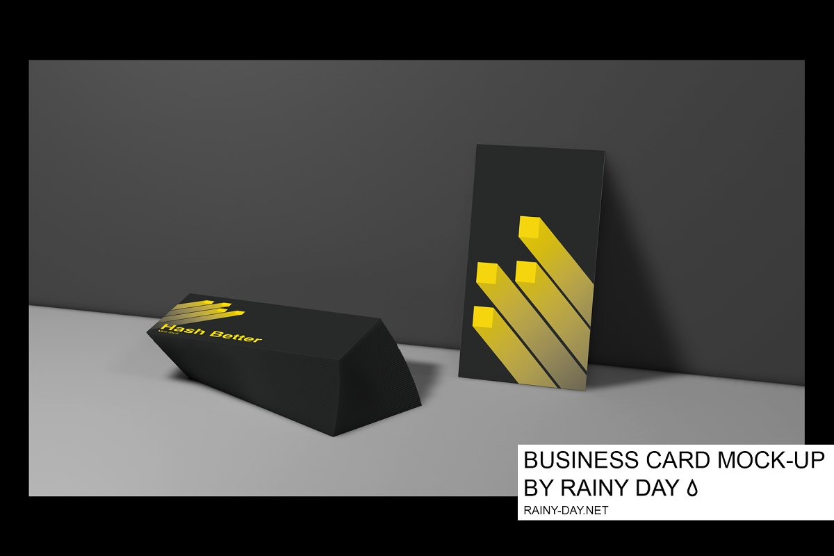 Business Card Mock-Up Stationary