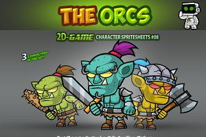 The Orcs Character Sprites 08