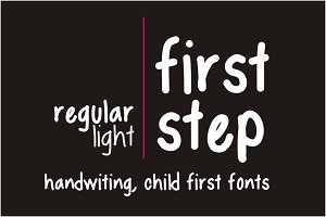 First Step Fonts