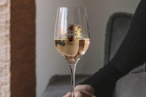 Wine Glass Mock-up #12