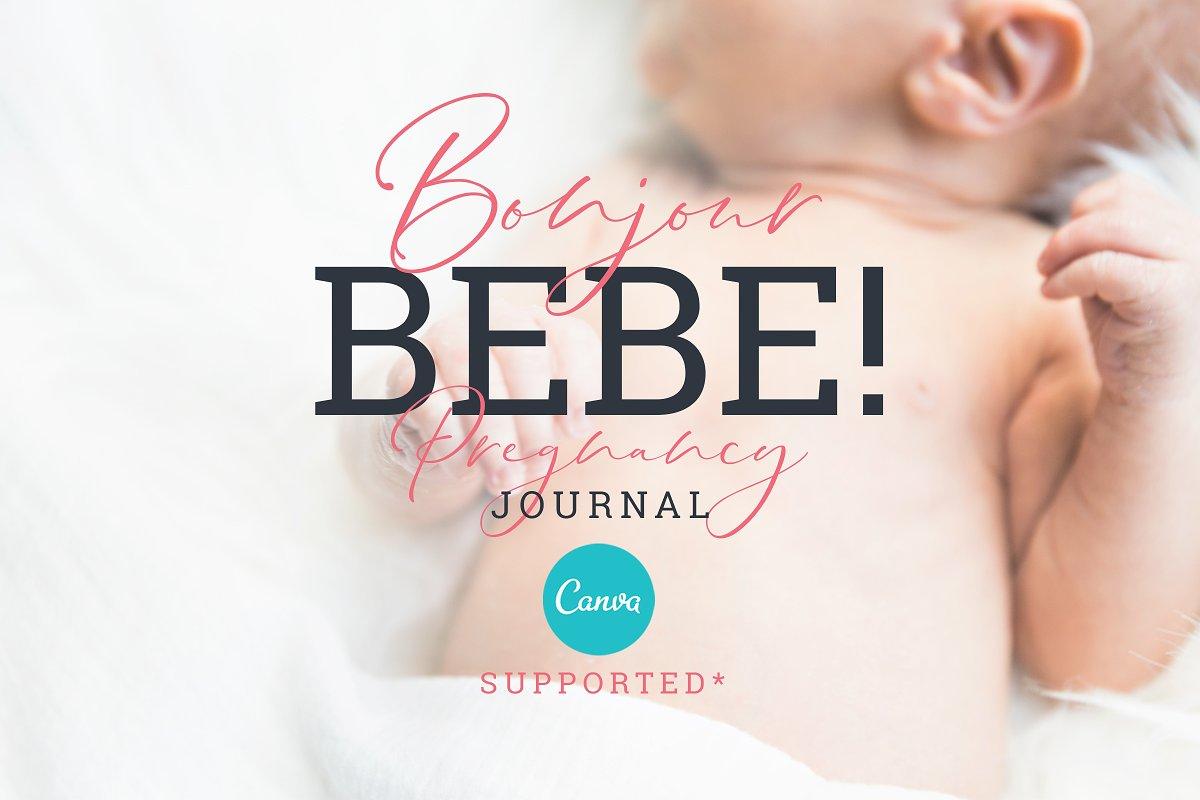 BONJOUR BEBE Pregnancy Journal