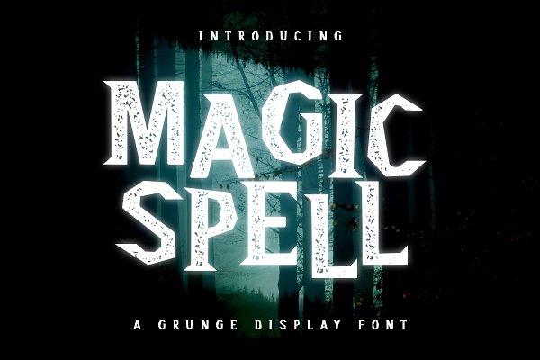 Magic Spell - Magical Grunge Display