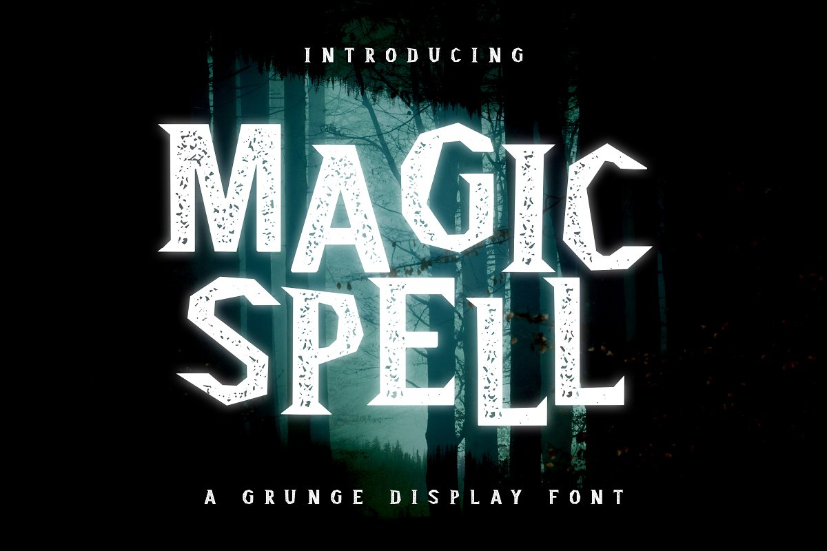 Magic Spell - Magical Grunge Display