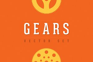 Gears - Vector Set