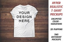 basic tshirt mockup