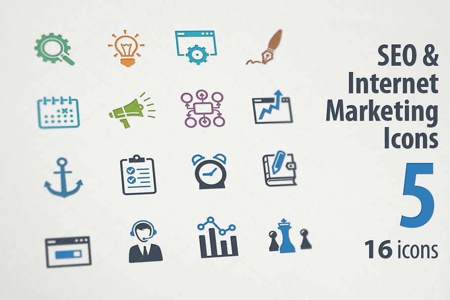 SEO & Internet Marketing Icons 5