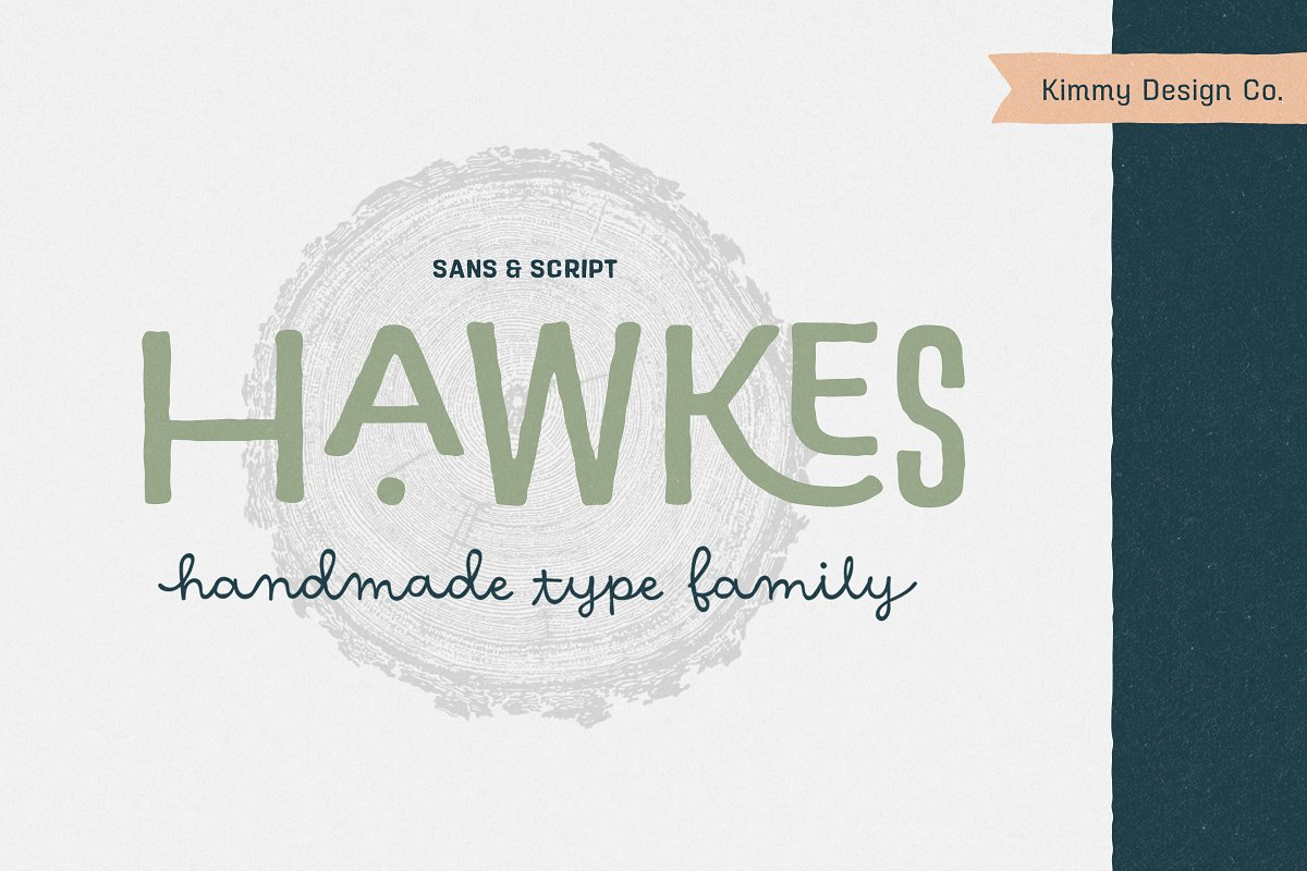 Hawkes Handmade Collection: 74% OFF in Display Fonts