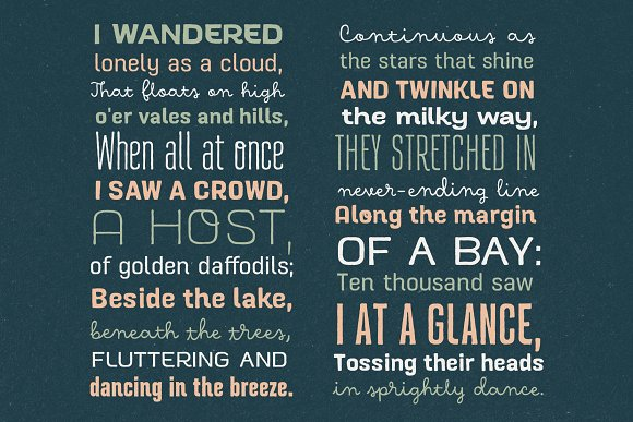Hawkes Handmade Collection: 74% OFF in Display Fonts - product preview 4