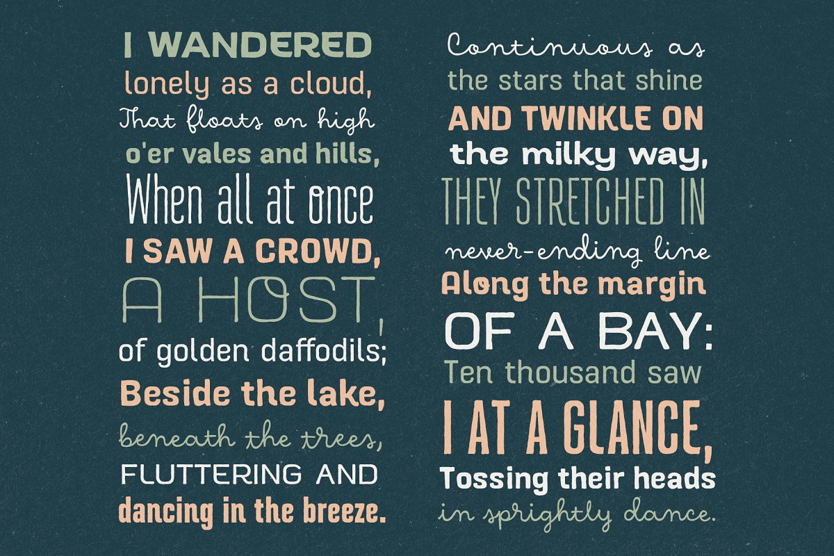 Hawkes Handmade Collection: 74% OFF in Display Fonts - product preview 18