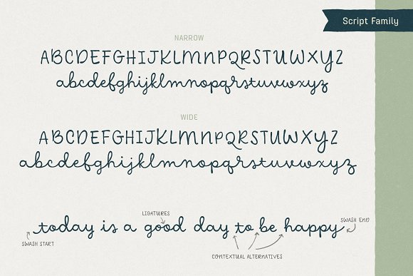 Hawkes Handmade Collection: 74% OFF in Display Fonts - product preview 16