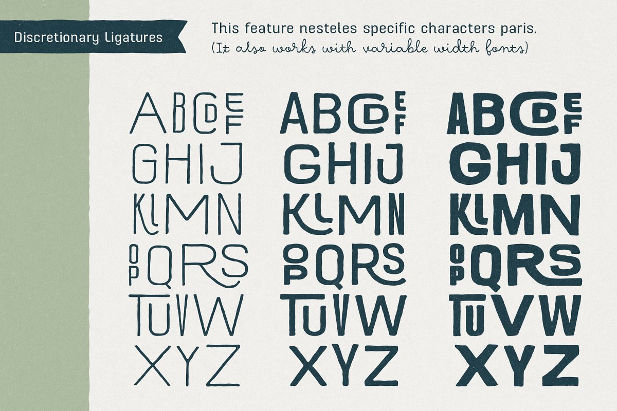 Hawkes Handmade Collection: 74% OFF in Display Fonts - product preview 21
