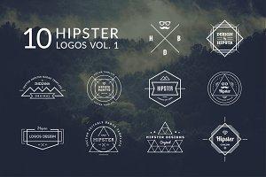 10 Hipster Logos Vol. 1