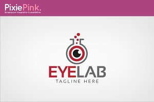 Eye Lab Logo Template