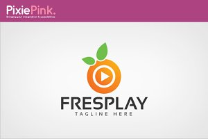 Fresh Play Logo Template